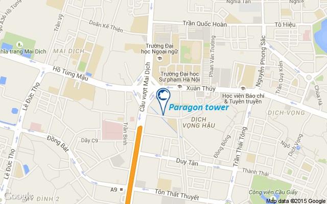 Vị trí Paragon Phạm Hùng
