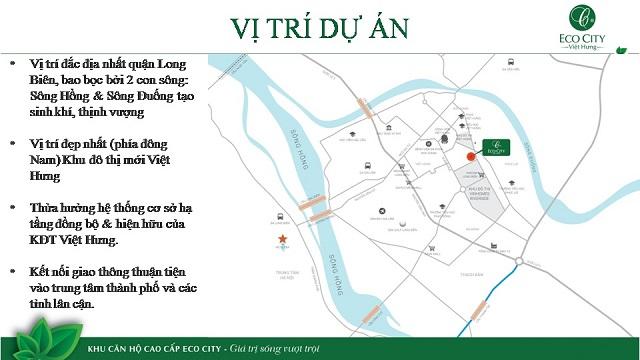 Vị trí Chung cư Ecocity Việt Hưng
