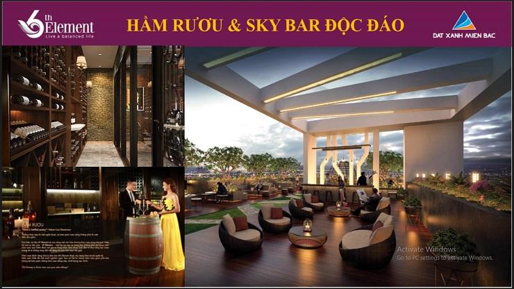 Hầm rượu - Sky bar