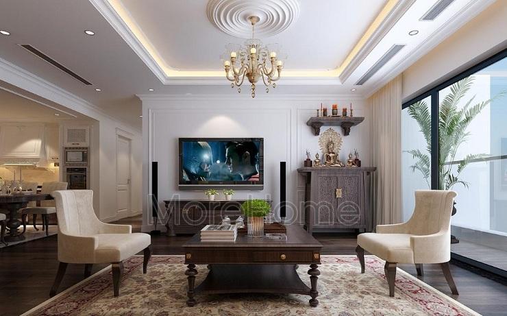 Thiết kế thực tế căn hộ 3 phòng ngủ chung cư TNR Sky Park Gold mark city