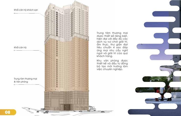 Bố trí thiết kế chung cư Golden Park Tower Cầu Giấy