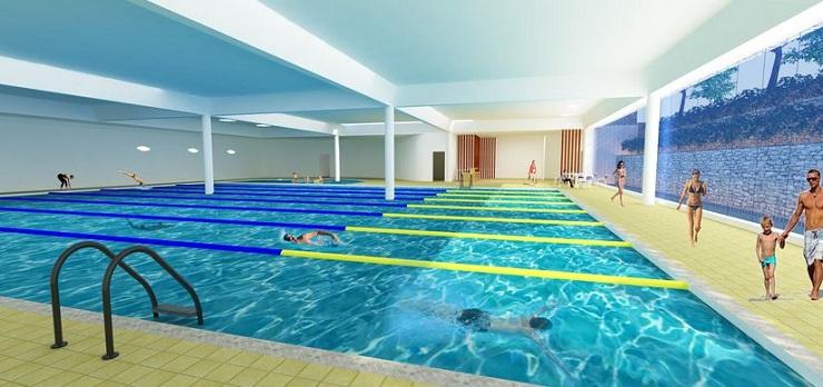 Bể bơi chung cư Thống nhất complex Nguyễn Tuân
