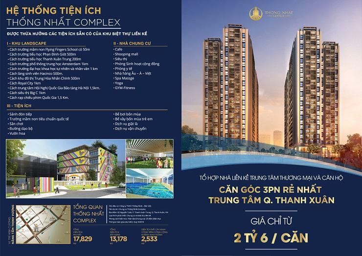 Tổng quan chung cư Thống Nhất Complex 82 Nguyễn Tuân