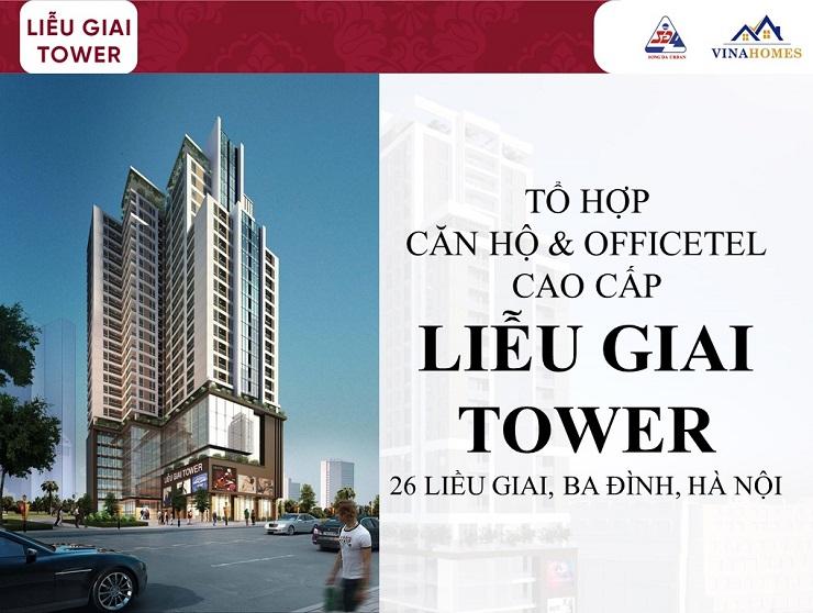 Phối cảnh chung cư Liễu Giai Tower