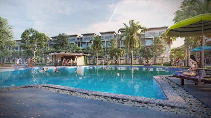 Bể bơi vườn sen Đồng kỵ - Lotus Garden Bắc Ninh