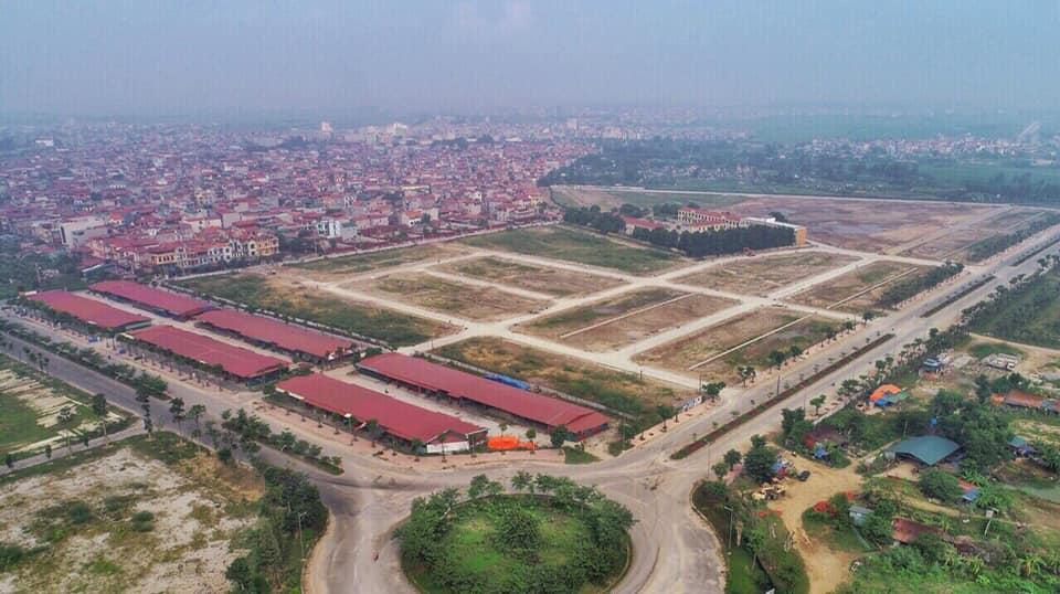 Thực địa khu đô thị Vườn Sen Đồng Kỵ -Lotus Garden Bắc Ninh 21/5/2019