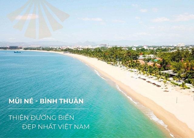 Apec Mũi Né sở hữu đường bờ biển đẹp nhất Việt Nam