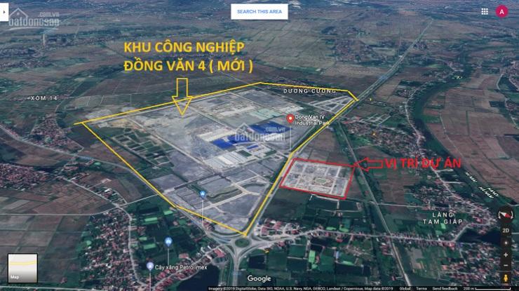 Vị trí khu đô thị Đồng Văn Green Park Kim Bảng Hà Nam