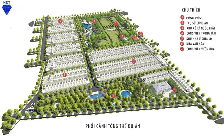 Mặt bằng khu đô thị Đồng Văn Green Park Kim Bảng Hà Nam