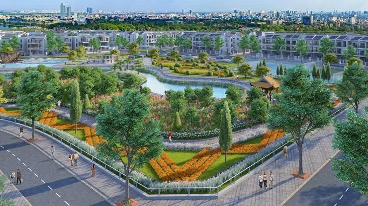 Phối cảnh Khu Đô Thị Đồng Văn Green Park Kim Bảng Hà Nam