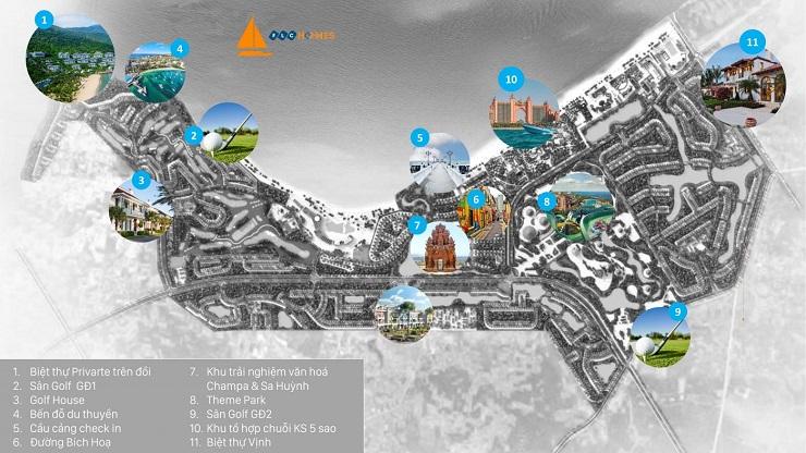 Quy mô dự án FLC Quảng Ngãi