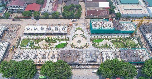 """Ở chính giữa là quảng trường trung tâm, 2 bên là khu vực """"Vườn Tĩnh"""" và """"Vườn Động"""""""