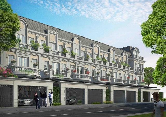 Tổng số căn: 147 căn Nhà phố Diện tích: 90m2 - 125m2 Giá bán: 24 – 29 triệu/m2