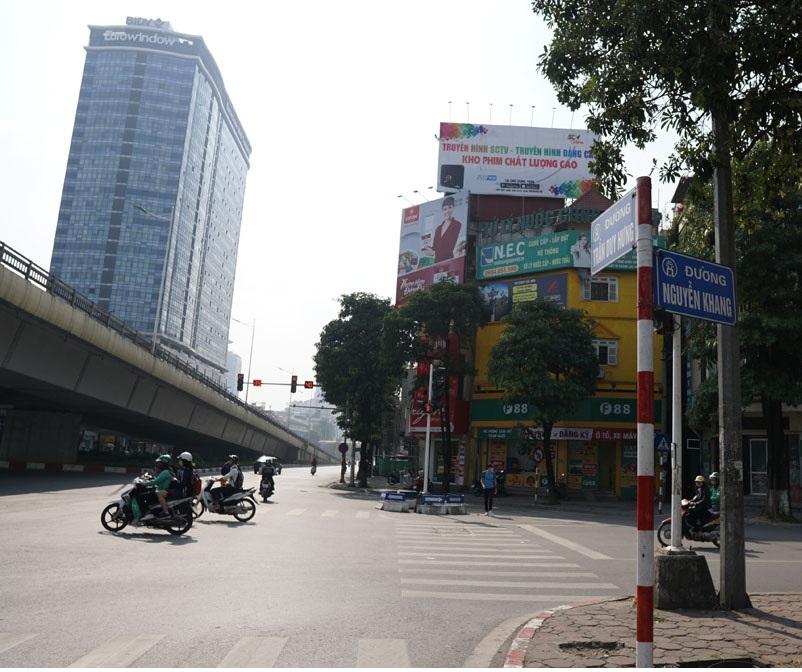 Đất mặt phố Trần Duy Hưng 100m2 mặt tiền 9m