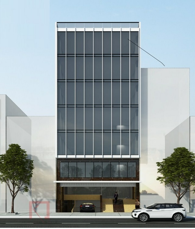 Đất mặt phố Trần Duy Hưng 100m2 mặt tiền 9m. Vi trí đẹp thích hợp xây tòa văn phòng.