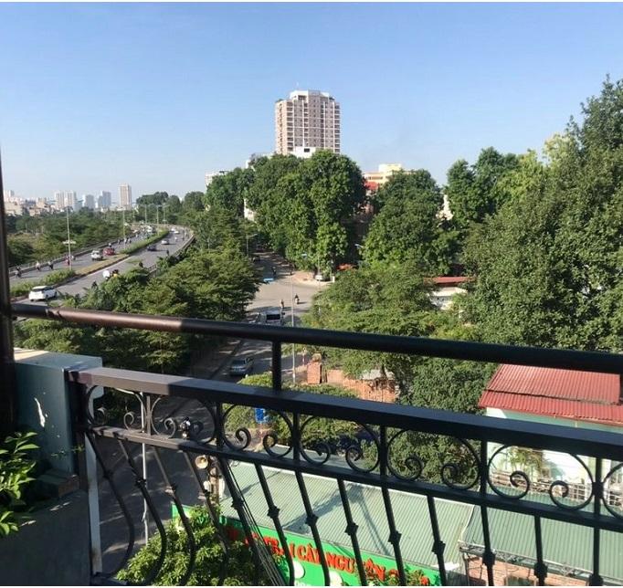 Nhà mặt phố Phan Kế Bính, ba Đình, 35m2. View sân thượng