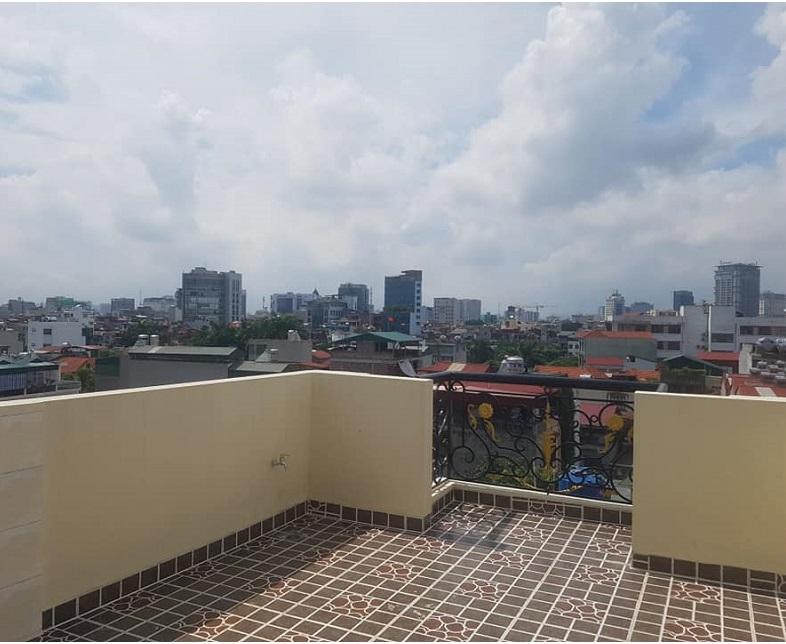 Nhà đẹp Ngọc Hà, Ba Đình, 50m2 6 tầng thang máy, sân thượng ban công view đẹp