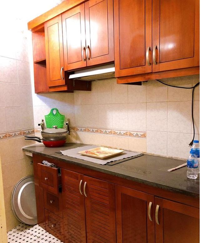 Nhà ngõ 135 Đôi Cấn, Ba Đình, 33m2 phòng bếp