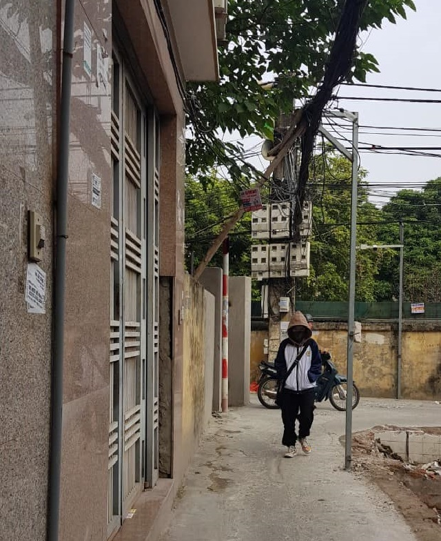 Phân lô 79 Trần Cung Cầu Giấy, ngõ thông 40m2, đường trước nhà
