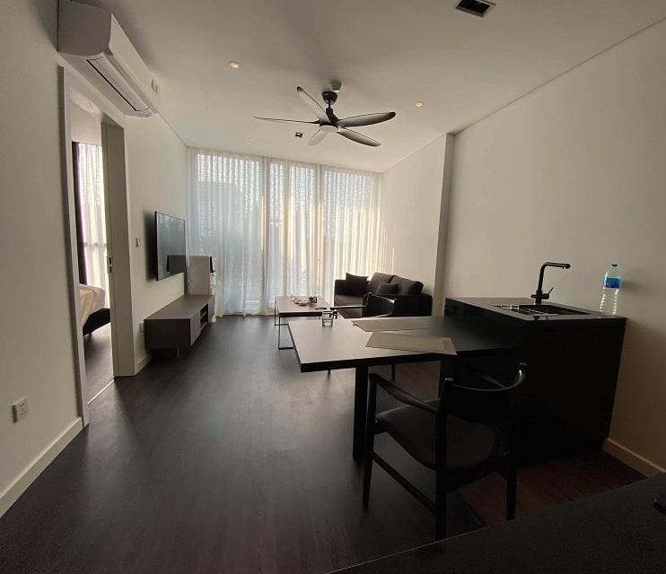Tòa căn hộ Tô Ngọc Vân, Tây Hồ, 106m2 thang máy, ô tô. Demo 1 phòng thuê